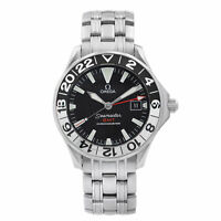 Omega Seamaster GMT 50th Anniversary Steel Black Dial Mens Watch 2234.50.00