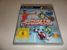 PLAYSTATION 3 PS 3 Sports Champions (Move Richiesto)