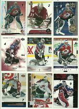 2001 01-02 UD UPPER-DECK CHALLENGE FOR THE CUP BASE AVALANCHE PATRICK ROY #20