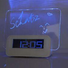Digitale Quarz-Wecker (batteriebetrieben) mit Nachtlicht fürs Schlafzimmer