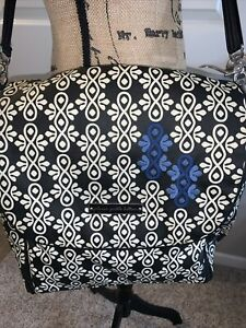 Petunia Pickle Bottom extra large diaper bag  can be carried as a backpack