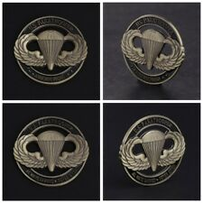 American Paratrooper US Hollow Commemorative Coin Collection Arts Gifts Souvenir