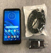 Motorola XT2005-1PP Moto E6 16GB Memory Cell Phone (Verizon Prepaid)Starry Black