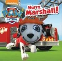 """AS NEW"" Parragon Books Ltd, Nickelodeon PAW Patrol Hurry, Marshall! Finger Pupp"