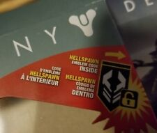 Destiny 2 HELLSPAWN Emblem Code ONLY Exclusive McFarlane Toys In Hand Quick Ship