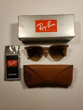 New Authentic Ray Ban RB4306-616613 size 54 Sunglasses tan brown gradient lenses