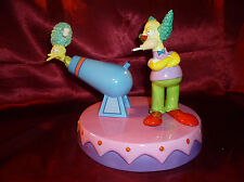 THE SIMPSONS Krusty Fires Side Show Mel COALPORT Limited Figure 1886/2000 Boxed
