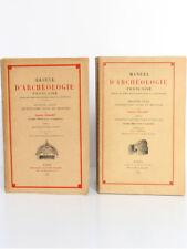 Manuel d'archéologie française Architecture civile et militaire ENLART 1929-1932