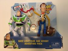 Toy Story 4 Adventure Pack Buzz Lightyear/Woody And Forky New In Box 2019 Ltd