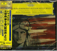 HERBERT VON KARAJAN-DVORAK: SYMPHONY NO.9 FROM THE NEW WORLD-JAPAN SHM-CD D20