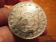 1747 Pillar Dollar excavated from the shipwreck Auguste sunk 1761 Nova Scotia
