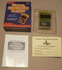Mega Memory Card Nintendo Game Boy Original Pocket Color 1999 CIB