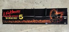 A Nightmare on Elm Street The Dream Child 5 Vintage Movie Poster Folded Horror