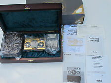 RARE Rollei 35 Gold Plated 75 years Anniversary camera with diamond NEW IN BOX