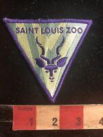 Vtg Purple Letter Version Missouri SAINT LOUIS ZOO Animal Patch - St. Louis 00Z2