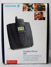 RARE VINTAGE 90'S ERICSSON CORDLESS PHONE 260 TELEPHONE IN BOX !