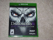 DARKSIDERS II DEATHINITIVE EDITION...XBOX ONE...**SEALED**BRAND NEW**!!!!!!!!