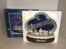 Enesco 1990 Small World Music Santa Claus Is Coming Deluxe Illuminated Action