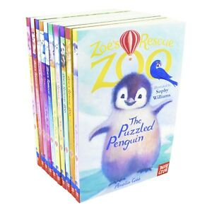 Zoes Rescue Zoo 10 Books Collection Set By Amelia Cobb - Ages 7-9 - Paperback