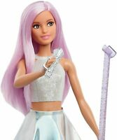 Barbie POP STAR Doll Singer Careers WITH Long Pink Hair Iridescent Skirt NEW
