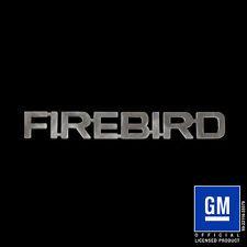 Speedcult / New Item / Firebird Text / Metal / Sign / Gmfrb01