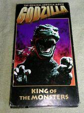 Godzilla, King of the Monsters VHS EP mode Toho Inoshira Honda 1956 Raymond Burr