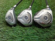 LH TaylorMade JetSpeed 3w + 5w + 3h (Woods + Hybrid 3pc) Golf Clubs LEFT HANDED