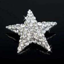 A Grade Rhinestone Crystal Bridal Bridesmaid Star Pin Brooch Pendant Jewelry
