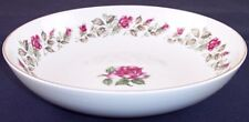 """New listing Diamond China Moss Rose 9.25"""" Round Vegetable Serving Bowl, Excellent Condition!"""