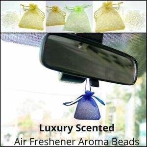 Scented Aroma Beads Air Freshener Perfume Car Home Room Fragrance Deodoriser