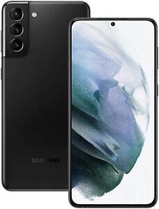 New Samsung Galaxy S21+ Plus 5G 256GB Black SM-G996B Sim Free Unlocked UK