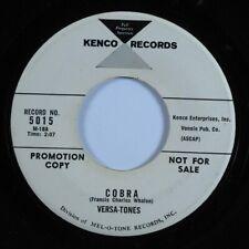 Instrumental Surf Exotica 45 VERSA-TONES Cobra KENCO promo HEAR