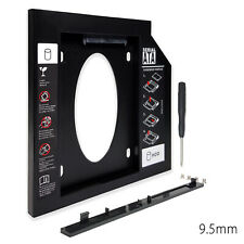 """SATA 2nd CD DVD ROM HDD SSD Hard Drive Caddy 2.5"""" Caddy For Universal Laptop"""