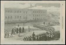 1869 CUBA CARIBBEAN prisonniers politiques exécution militaire (159)