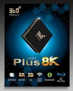 HKE360 360Plus Gen5 五代 8K盒子 32GB TVBOX全球最穩定 中港台日韓電視盒EVPad FunTV Unblock Tech全球聯保