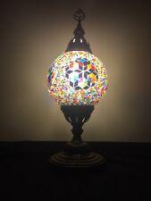 Tischlampe Orientlampe Mosaiklampe Tiffany Dekoleuchte Glas Osmanisch  Bunt