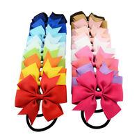 1 Piece Baby Girls Hair Band Rope Grosgrain Ribbon Hair Bow Accessories