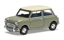 CORGI VA02537 - 1/43 MORRIS MINI COOPER MK1 Tweed Gris & Old English White