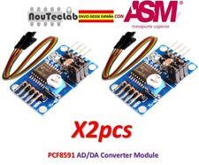 2pcs PCF8591 AD/DA Converter Module Analog To Digital Conversion AD DA + Cable