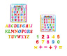MAGNETIC LEARNING SET ALPHABET LETTERS NUMBERS FRIDGE MAGNETS EDUCATIONAL TOYS
