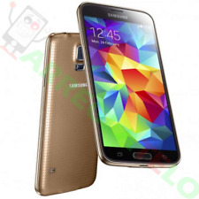 "Samsung Galaxy S5 Mini 16GB 4.5"" Amoled Quad Core 8MP GPS Dorado"