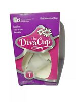 Brand New Diva Cup Model 1 Pre-Childbirth Menstrual Cup DivaCup