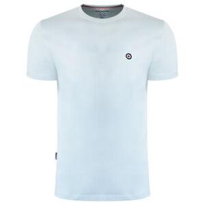 Lambretta Target Logo T Shirt Cool Blue