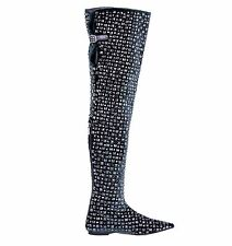 Flat (0 to 1/2 in.) Casual Over Knee Boots for Women