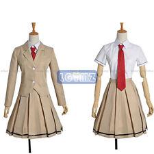 WataMote Tomoko Kuroki Uniform Cos Clothing Cosplay Costume
