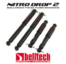 87-96 Dodge Dakota 2WD Nitro Drop 2 Front/Rear Shocks for 2/4 Drop