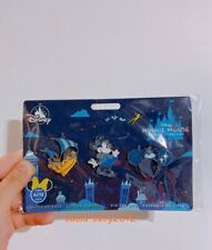 Disney Store Minnie Mouse the Main Attraction June Peter Pan Tinker Pin Set