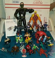 Mixed Junk Drawer lot of action figures. Spiderman, pokemon, power rangers