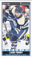20/21 OPC...LIAM FOUDY...PREMIER TALLBOYS...ROOKIE...SP...# P-44...BLUE JACKETS