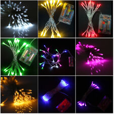 10M LED ficelle lumière féerique à piles Noël Lampe Fête Jardin